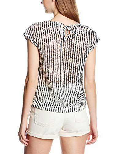 Vero Moda Bellas Stripes - Blusa Mujer Blanco