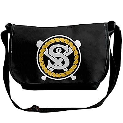 Unisex The Rapper Chance 3 SOX Logo Shoulder Bags Casual Handbag Travel Crossbody Bag Messenger Sling Bag