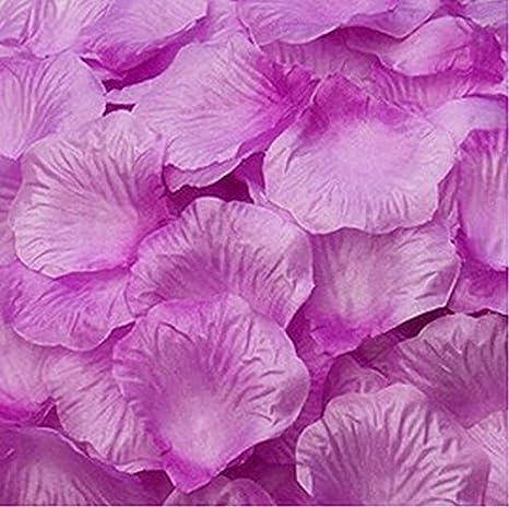 Magik 1000~ 5000pcs pétales de rose fleur en soie Décorations de table de fête de mariage Pasty, différents Choix, rose, 2000