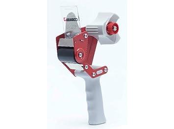 Miarco 23200 Máquina de precintar, Roja y Negra: Amazon.es: Bricolaje y herramientas