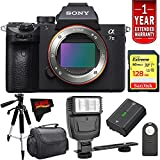 Sony Alpha a7 III Mirrorless Digital Camera (Body Only) International Version (No Warranty) Advanced Kit