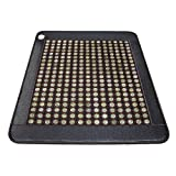 Queen Size (74'' x 59'') Infrared Heat Therapy Healing Jade Mat / Pad with two temperature controllers Mat150