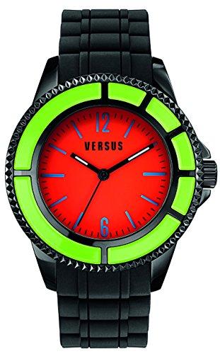 Versus by Versace Men's SGM110014 TOKYO Analog Display Quartz Black Watch