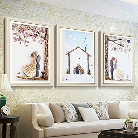 Sykdybz - Pintura de bordado para salón, comedor, dormitorio ...