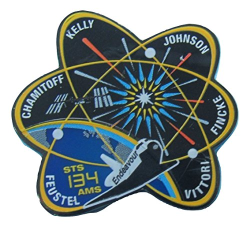 STS-134 Mission Lapel Pin Official Nasa Space Shuttle Endeavour