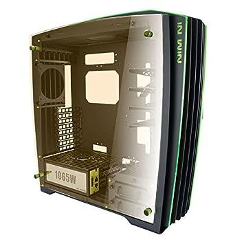 In Win H Frame 2.0 Tower 1065 W Black, Green Computer Case U2013 Computer
