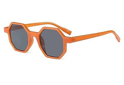 Gafas De Sol Hexágono Cuadrado Lentes para Mujer Hombre ...