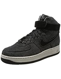 Nike Women's Air Force 1 Hi Se High-Top Leather Basketball Shoe
