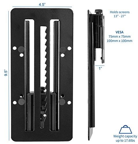 VIVO Height Adjustable VESA Adapter Accessory Bracket Kit Individual Monitor 13'' to 27'' Screens (Stand-VAD3) by VIVO (Image #1)