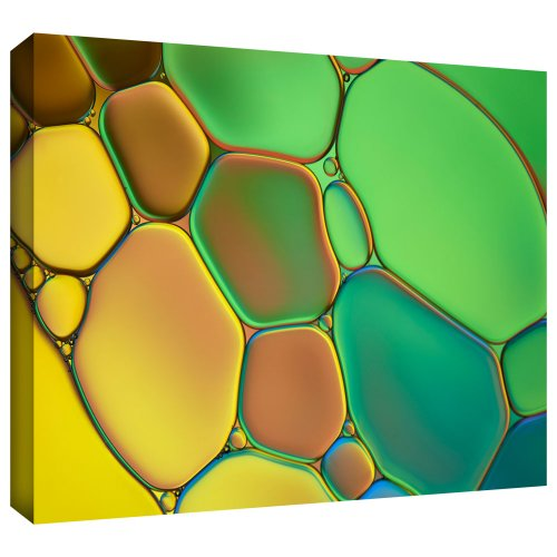 ArtWall Cora Niele 'Stained Glass III' Gallery Wrapped Canvas
