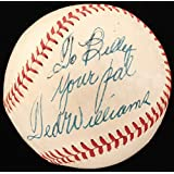Ted Williams Vintage Signed OALWilliam Harridge Baseball Inscribed Your Pal (Beckett LOA) - (in Stock February 2019)
