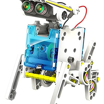 OWI 14 in 1 Solar Powered Robot DIY Transformer Toy Educational Science & nature