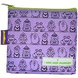Allermates Kids I Have Food Allergies Snack Bag - Purple Large