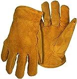 Boss Gloves 4176L Large Pile Lined Split Leather Gloves