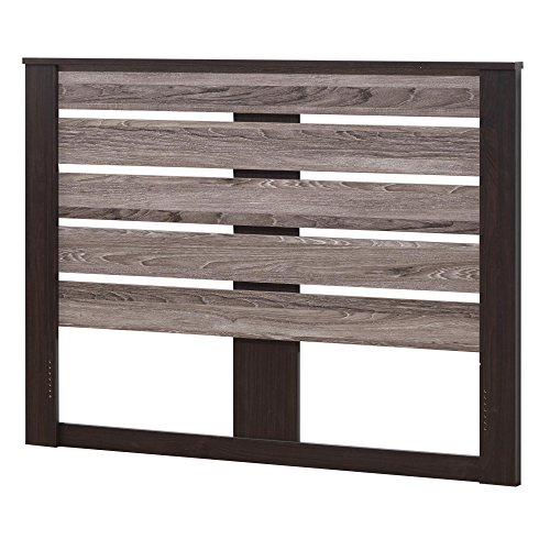 Ameriwood Home Colebrook Queen Headboard, Espresso/Rustic by Ameriwood Home