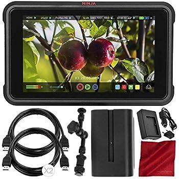 Amazon.com: Ninja V Atomos - Grabadora de monitor (2.0 in ...