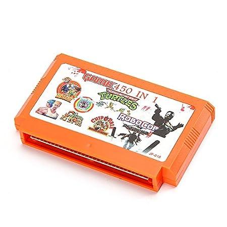 TaiTech 450 en 1 8 bit Cartucho de Juego para NES Nintendo ...