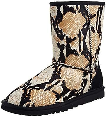 Amazon Com Ugg Australia Womens Classic Short Reptile