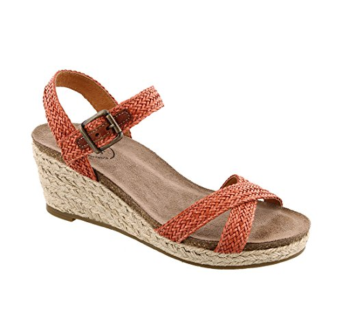 Jute Hey Taos Sandal Women's Burnt orange Footwear qTxxAwF