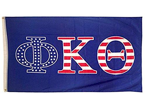 Phi Kappa Theta USA Letter Fraternity Flag Greek Letter Use as a Banner Sign ()
