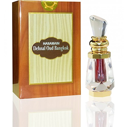 Dehnal oud Bangkok - Arabian Designer Therapeutic Essential Perfume Oil Fragrance - Long Lasting Attar / Itar / Ittar - Alcohol Free - for Men and Women - hombre y mujer - Exquisite glass bottle