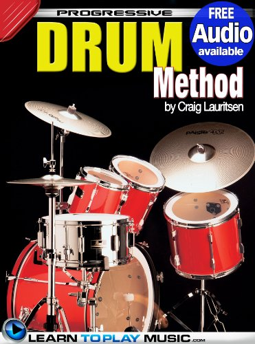 (Drum Lessons: Teach Yourself How to Play Drums (Free Audio Available) (Progressive))