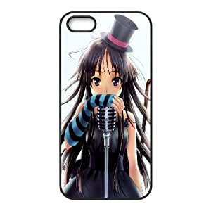 Mio Akiyama K On Anime iPhone 4 4s Cell Phone Case Black TPU Phone Case SV_247801
