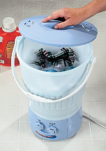 As Seen On TV Wonder Washer - a Portable Mini Clothes Washing Machine That goes Anywhere - Ideal for Cleaning...
