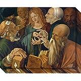 Canvas Art Gallery Wrap 'Christ Among Doctors, 1506' by Albrecht Durer