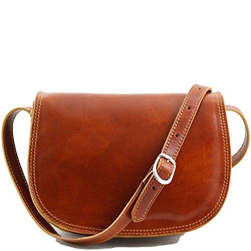 Ledertasche/Damentasche/ Italienische echt Leder /Umhängetasche /Schultertasche /Satteltasche/ Crossover Tasche. 26x20x13 cm