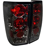 Spec-D Tuning LT-TIT04G-TM Scion xB Smoked Tail Lights Rear Stop Lamp Tinted