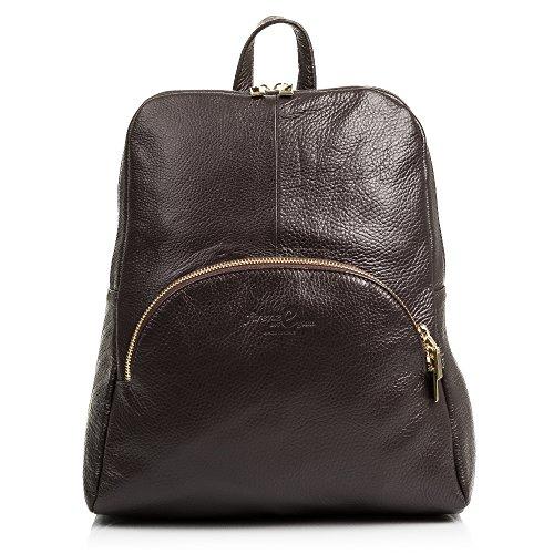 Backpack FIRENZE Handbag leather MADE BROWN GENUINE Leather handbag ARTEGIANI Color ITALIAN Geunine LEATHER31x31x10 IN soft Woman Backpack GARNET cm ITALY DARK wYXxrYqSz