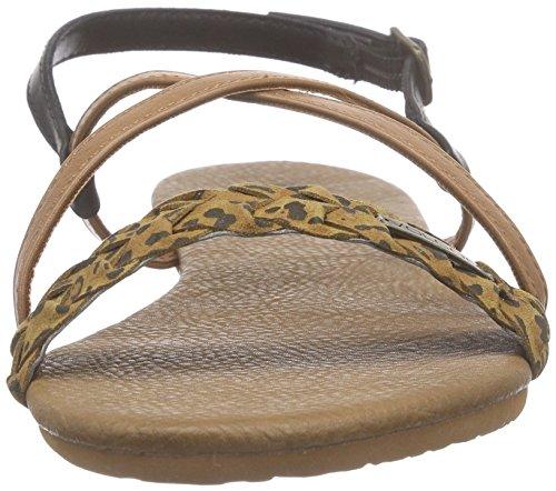 Volcom Mehrfarbig alla donna con multicolore Sndl Che Cheetah Journey caviglia cinturino Sandali da UqarvBU