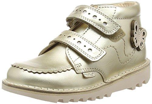 Kickers Mädchen Kick Hi F Kurzschaft Stiefel Gold