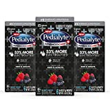 Pedialyte AdvancedCare Plus Electrolyte Powder, with 33% More Electrolytes and PreActiv Prebiotics, Berry