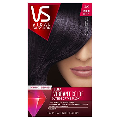 Vidal Sassoon Pro Series London Luxe Hair Color, Oxford Violet Onyx  (Pack Of 3)