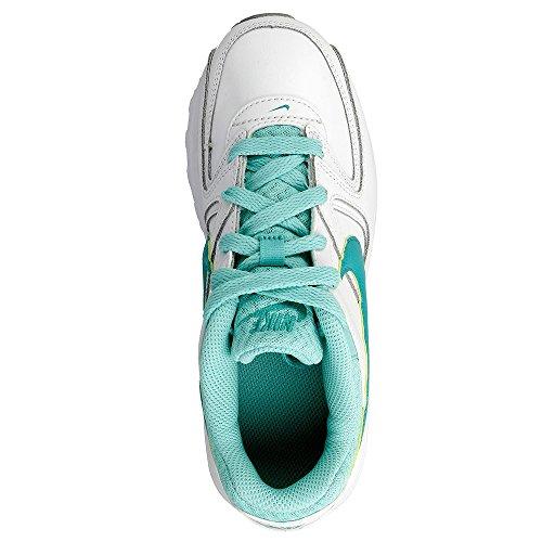 Nike Mädchen Air Max Command Flex Ltr Ps Laufschuhe Turquoise-Blanc