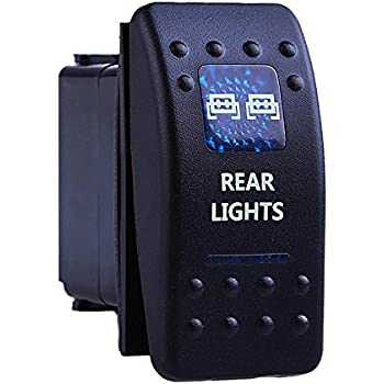 Amazon.com: Rocker Switch - Led Rear Light Toggle Switches
