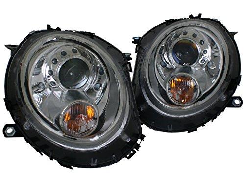Mini Cooper Headlights Projector (Mini Cooper R55, R56, R57, R58, R59 Chrome Projector Headlights)