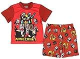 AME Minecraft Big Boy's The Nether Pajama Short Set