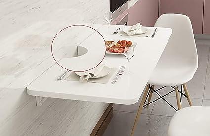 pliante pour murale blanche table à en manger Table MDF GLJ mv0wnN8