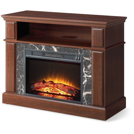 Amazon Com Whalen 41 Cherry Media Fireplace For Television Stand