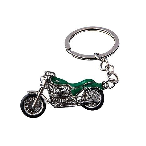 Qinlee Niño Llavero Vintage Forma Llavero Mochila Auto Moto ...