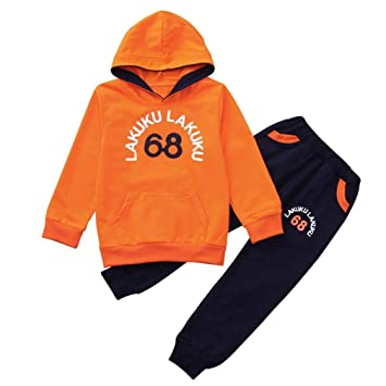 d0f774acf Amazon.com  Autumn Winter Children Clothes Kids Boys Long Sleeves ...