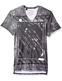 Men's Tafof Short Sleeve Fashion Graphic T-Shirt