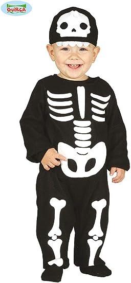 Guirca 87010 - Disfraz de Esqueleto para niño de 6/12 Meses ...