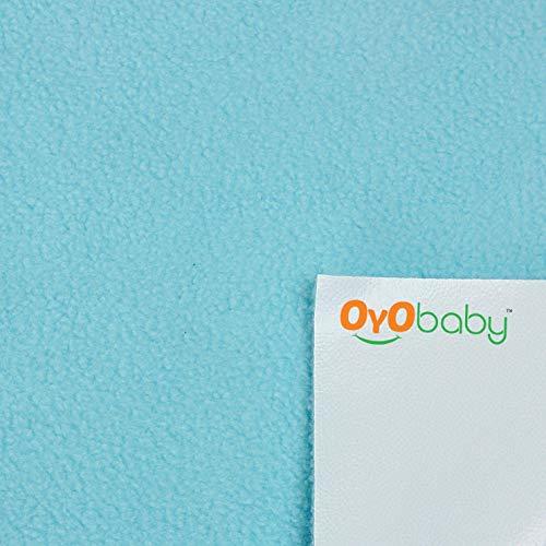 OYO BABY – Water Proof and Reusable Mat / Mattress Protector / Absorbent Sheets (100cm X 70cm, Medium) – Sea Blue