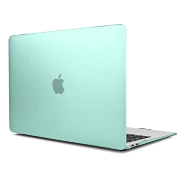 TwoL Carcasa MacBook Air 13 2018 2019, Funda Dura Carcasa para MacBook Air 13 Pulgadas 2018 2019 Liberación Modelo A1932 Verde