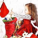 Angela&Alex Santa Sacks, 3 Pack Large Christmas 3D