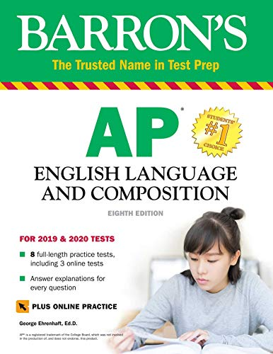 Pdf Reference Barron's AP English Language and Composition with Online Tests